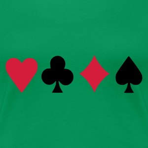 Poker - Frauen Premium T-Shirt