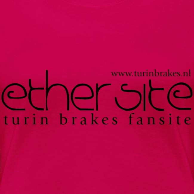 Ether Site Girls - black logo