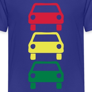 DE-Ampelautos - Teenager Premium T-Shirt