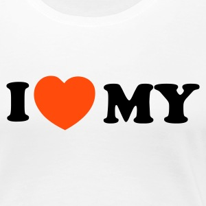 SW-I love my... - Premium-T-shirt dam