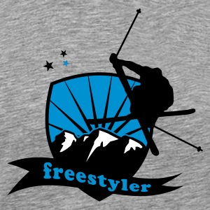 Cendre freestyler T-shirts - T-shirt Premium Homme