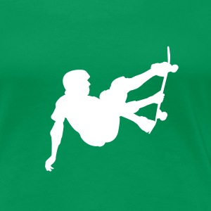 Skater - Skateboard - Skating T-Shirts Kelly green - Frauen Premium T-Shirt