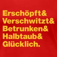 Motiv ~ Geiler Abend! Frauen Shirt