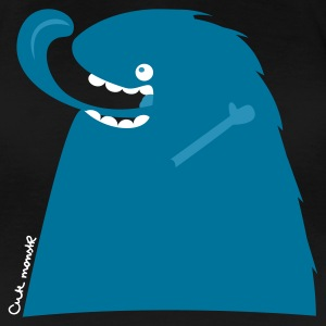 Schwarz Happy Monster @ cute monstR T-Shirts - Frauen Premium T-Shirt