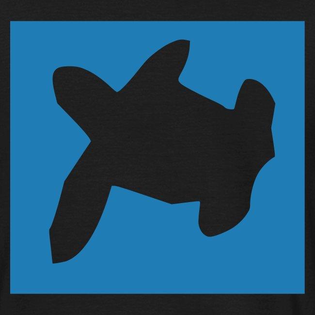 TATTOO MOOREA T-SHIRT TURTLE BLUE