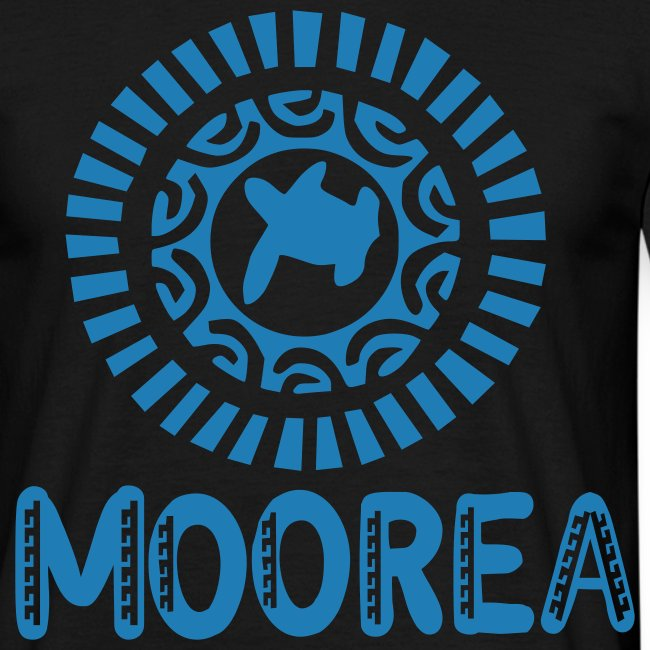 TATTOO MOOREA T-SHIRT TURTLE SHARK