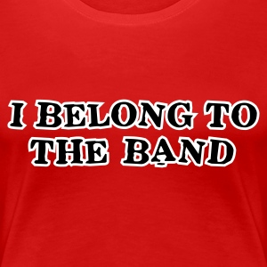 Stereo rot i_belong_to_the_band T-Shirts - Frauen Premium T-Shirt