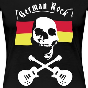 Schwarz skull_germany T-Shirts - Frauen Premium T-Shirt