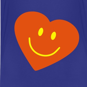 Sky Herz - Smiley - Heart Kinder T-Shirts - Teenager Premium T-Shirt