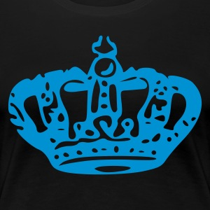 Krone - crown - prince - princess - könig - königin - prinz - prinzessin - jewels  - Frauen Premium T-Shirt