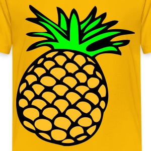 DE-Ananas - Teenager Premium T-Shirt