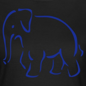 DE-Elefant - Frauen T-Shirt