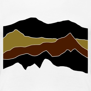 White mountains Women's Tees - Women's Premium T-Shirt