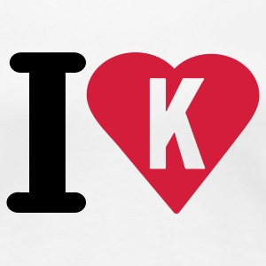 i_love_k - Women's Premium T-Shirt