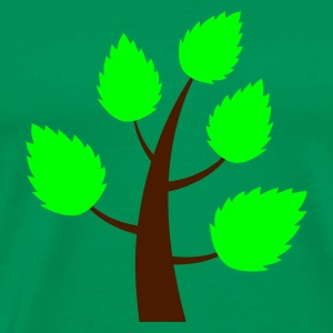 Tree (v1, 2c, MPen) - Men's Premium T-Shirt