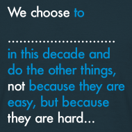 Design ~ We Choose To (Mens)