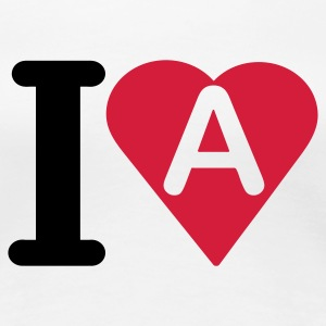 i_love_a - Women's Premium T-Shirt