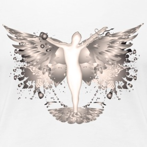 Angel - Frauen Premium T-Shirt