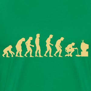 Gamers Evolution - Herre premium T-shirt