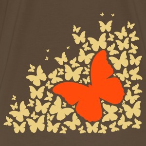 A silhouette of butterflies T-Shirts - Men's Premium T-Shirt