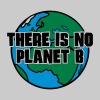 Grau meliert There is no Planet B T-Shirts - Männer Premium T-Shirt