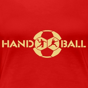 Handball Shirt 2 - Frauen Premium T-Shirt