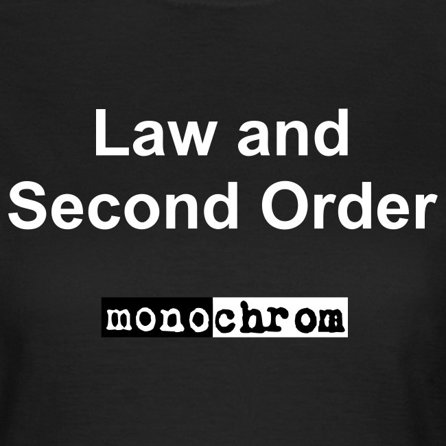 Law and Second Order - weiss - wmn