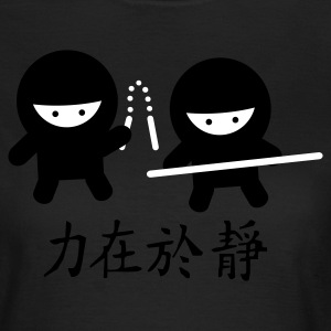 Chocolade Ninja Power T-shirts - Dame-T-shirt