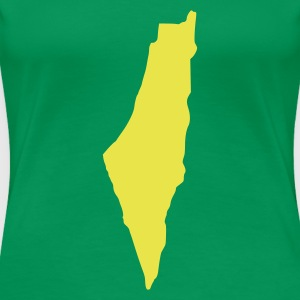 Kelly green Israel T-Shirts - Frauen Premium T-Shirt