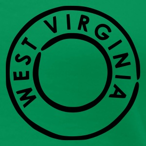 Grass green West Virginia Women's Tees - Women's Premium T-Shirt