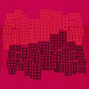 Light pink City Women's Tees - Women's Premium T-Shirt
