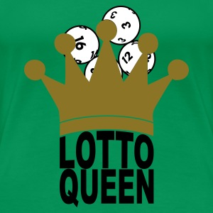 Kelly green Lotto Queen T-Shirts - Frauen Premium T-Shirt