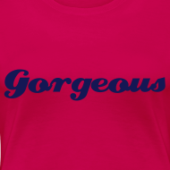 Design ~ Ladies Fit Tee Red