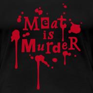 Motiv ~ Womens Shirt 'Meat is Murder'
