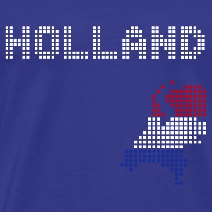 Sky Dutch - holland - netherlands T-Shirts - Men's Premium T-Shirt