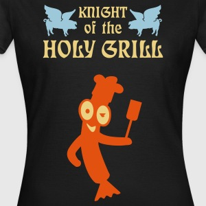 Chocolat Knight of the holy grill (Txt, 2c) T-shirts - T-shirt Femme
