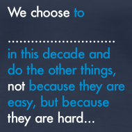 Design ~ We Choose To (Womens)