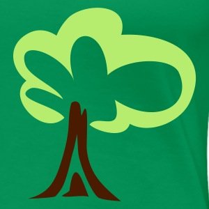 Kelly green tree Women's Tees - Women's Premium T-Shirt