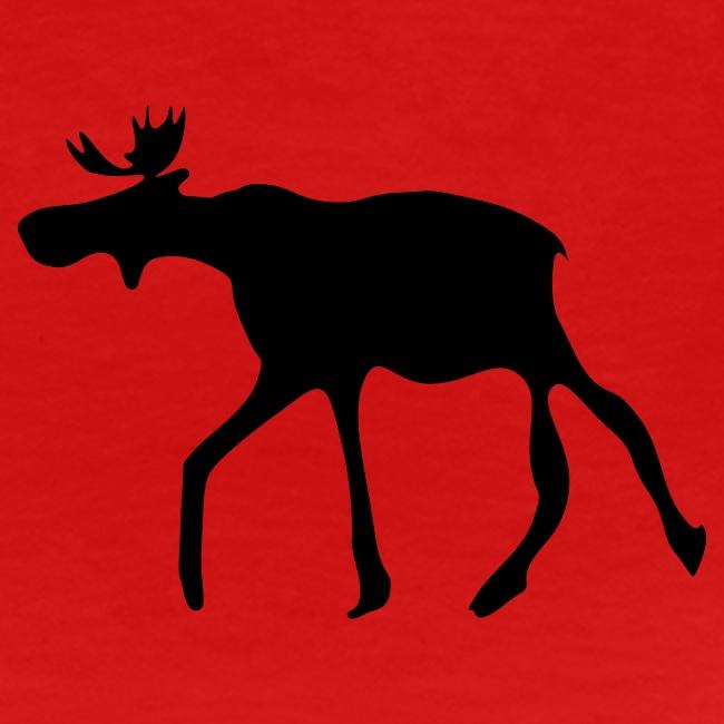 """Frauen Girlieshirt klassisch """"The Elk"""""""