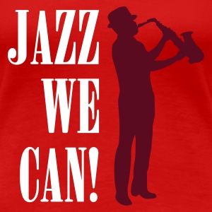 jazz_we_can_2c Camisetas - Camiseta premium mujer