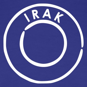 Royal blue Irak - Iraq Women's Tees - Women's Premium T-Shirt