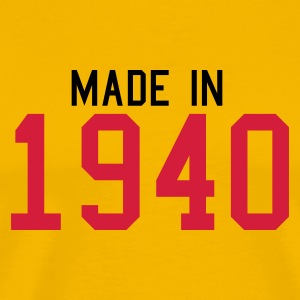 Yellow 1940 Men's Tees - Men's Premium T-Shirt