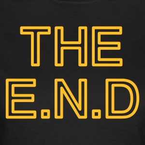 the end - T-shirt dam