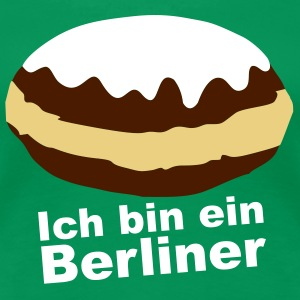 Kelly green berliner T-Shirts - Frauen Premium T-Shirt