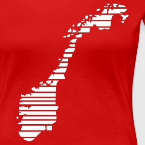 Red Norway Women's Tees - Women's Premium T-Shirt