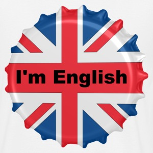 Blanc I'm english T-shirts - T-shirt Homme