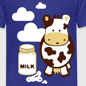 Türkis kuh milk Kinder T-Shirts - Teenager Premium T-Shirt