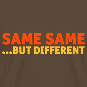 Same Same But Different 2 (1c, NEU) - Männer Premium T-Shirt