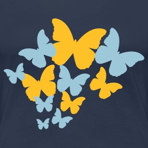 Butterfly Group (2c, NEU) - Frauen Premium T-Shirt
