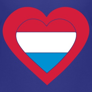 Cyan i_love_luxemburg Kids' Shirts - Teenage Premium T-Shirt